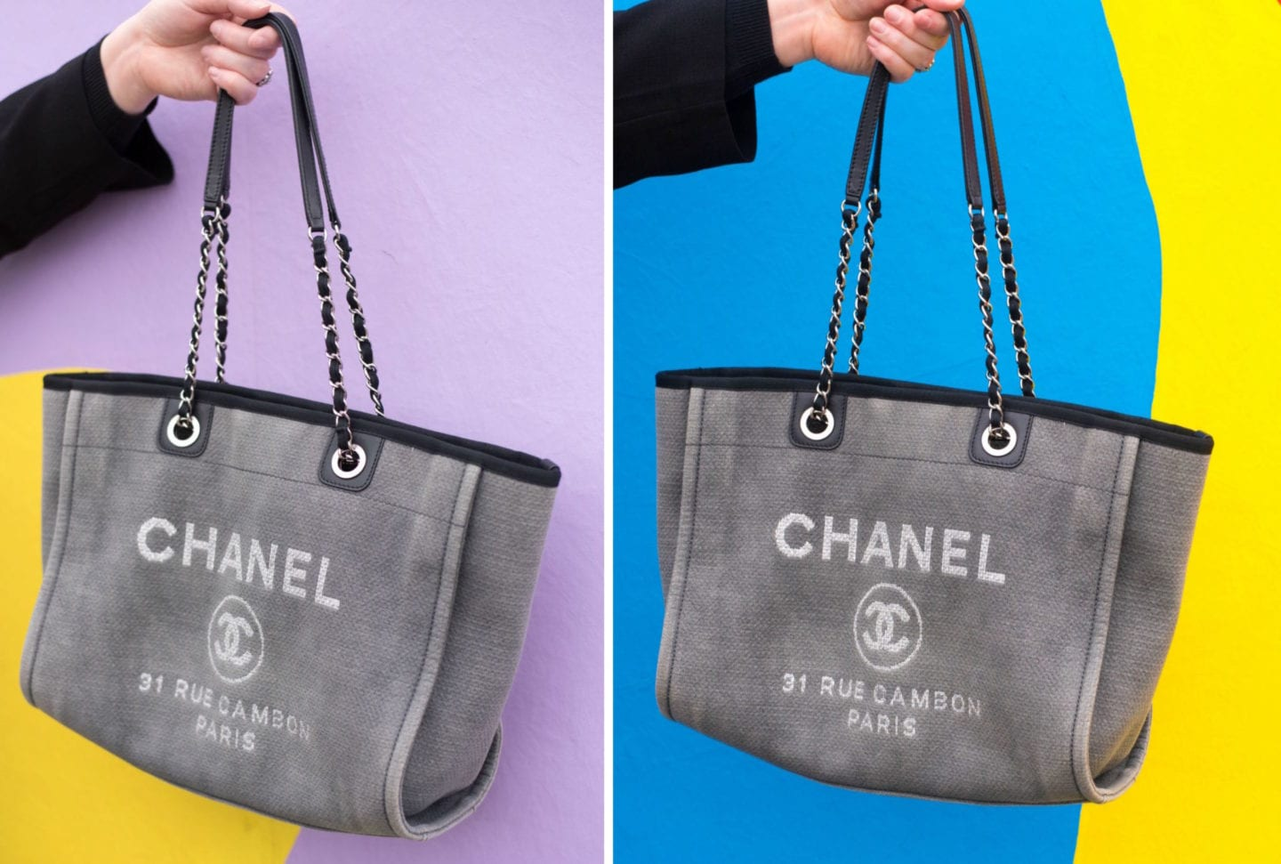 Chanel Deauville Tote Bag copy
