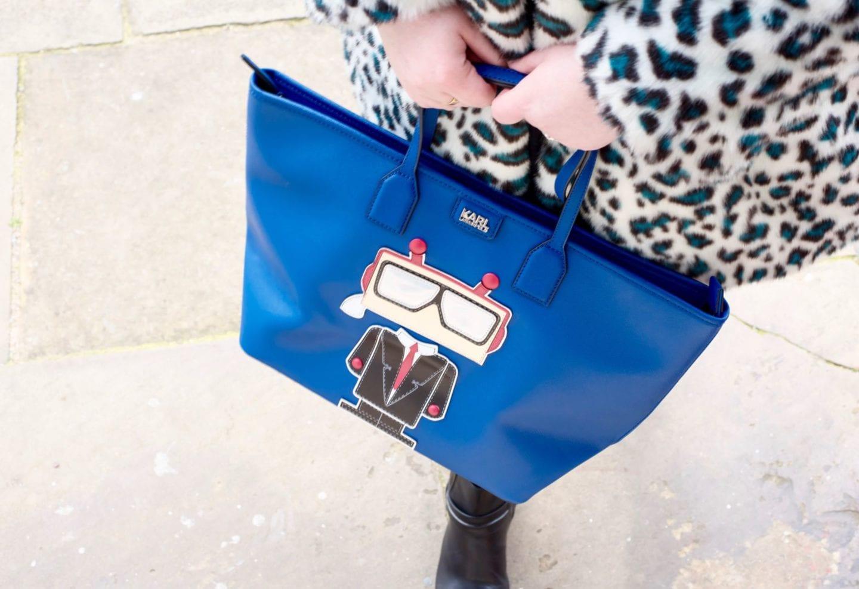 karl lagerfeld handbag robot