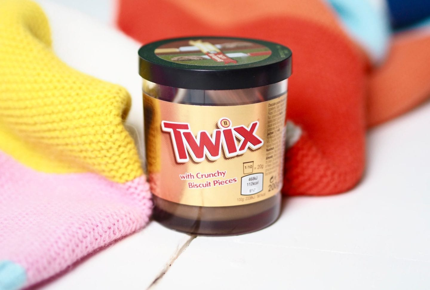 Twix Spread snack