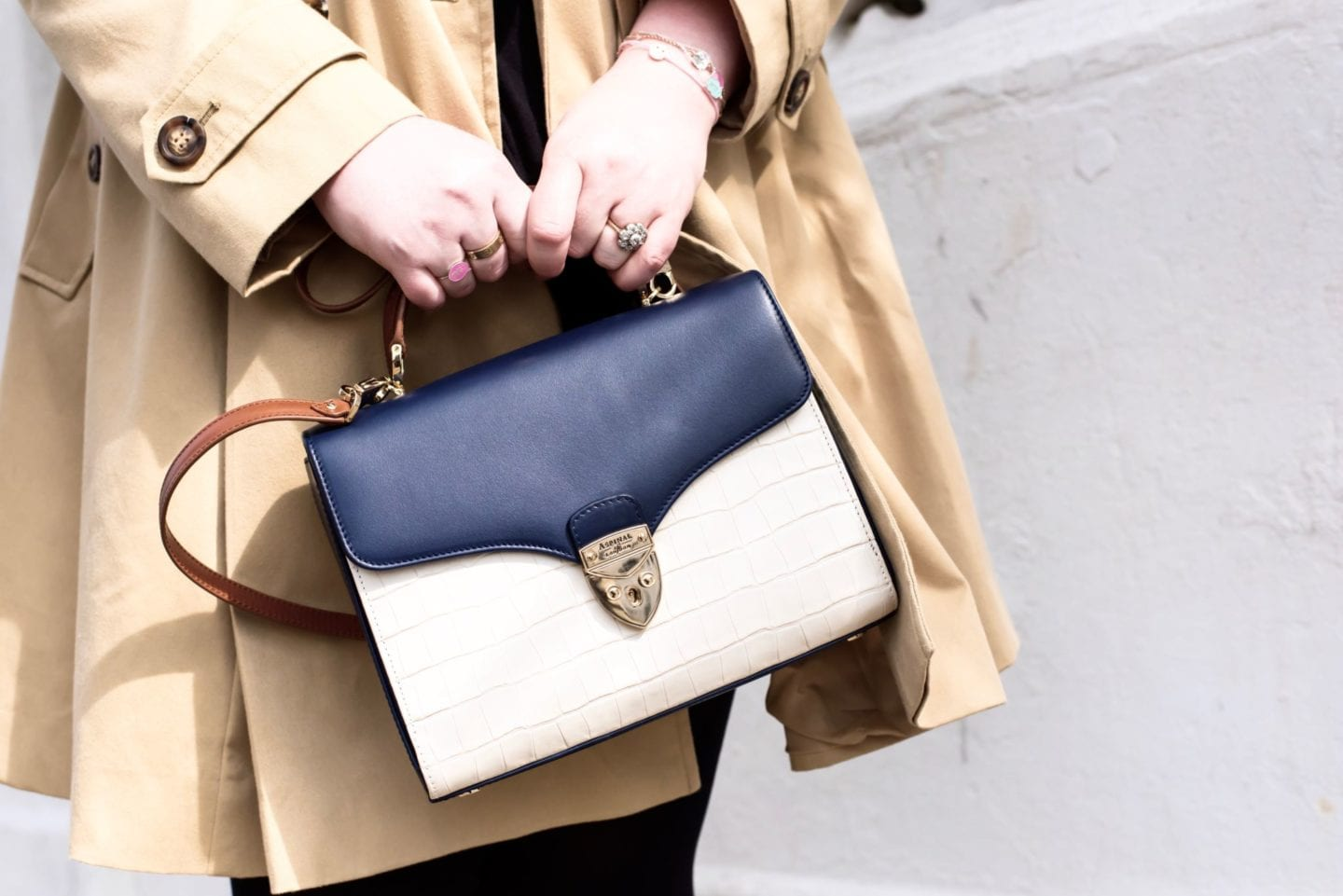 aspinal of london mayfair handbag fashion blogger curve