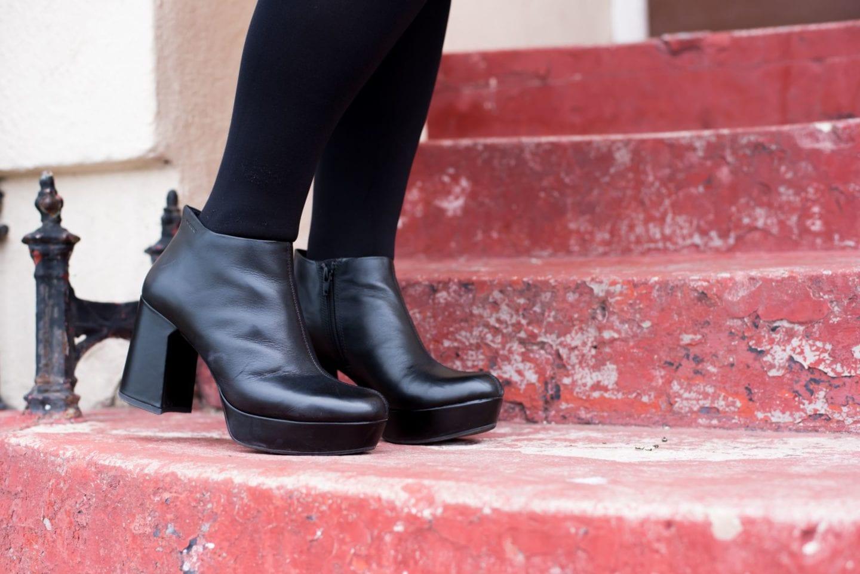 vagabond shoes leather platforms