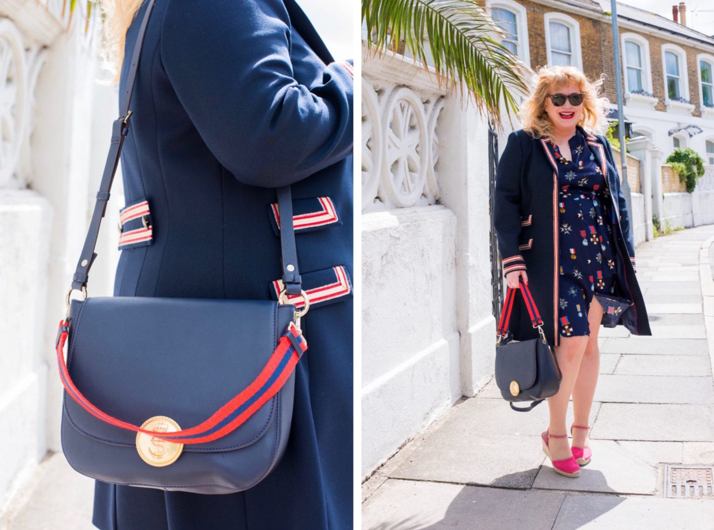 fashion for lunch blog boden dress and handbag