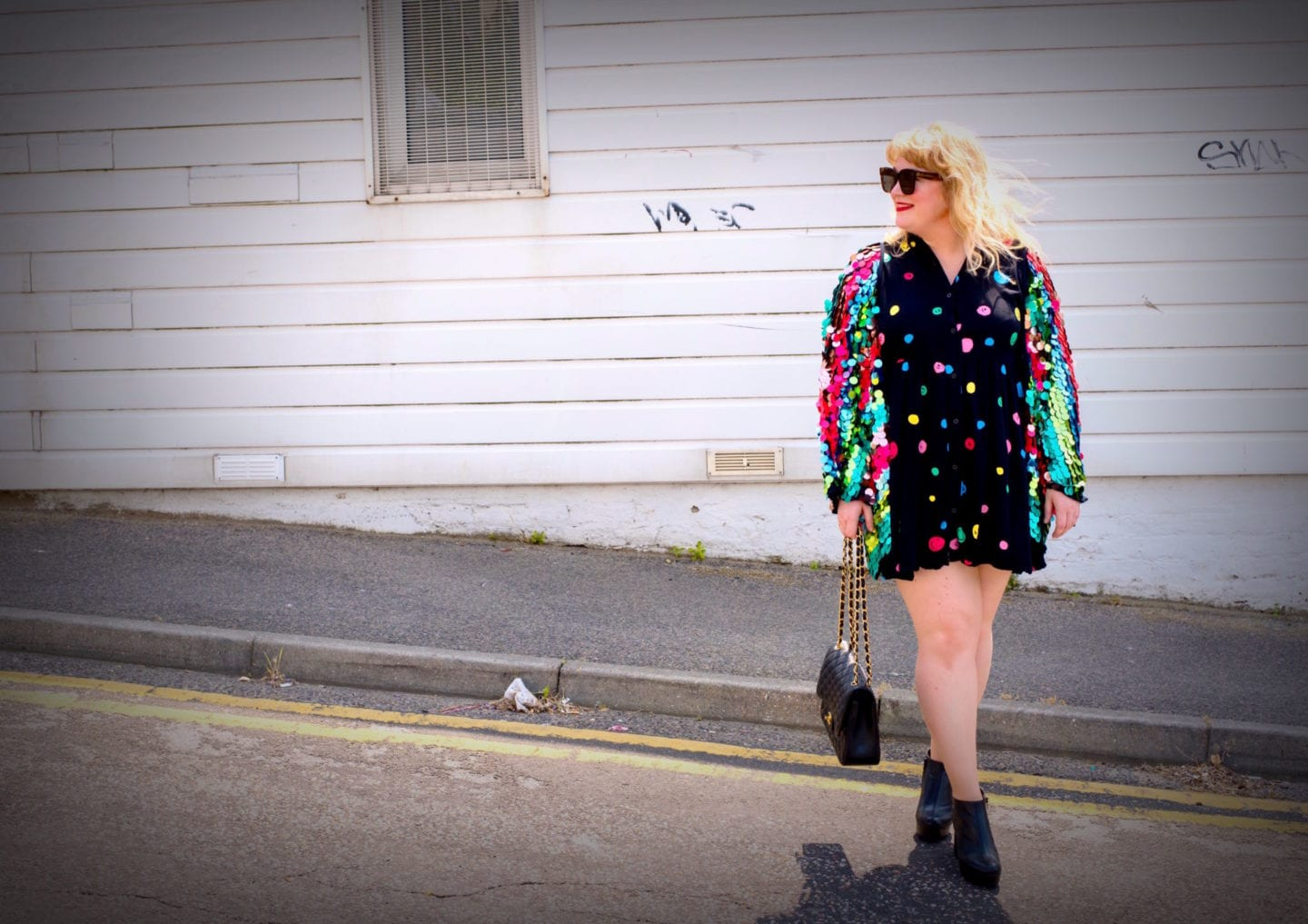 fashion for lunch blog style outfit post sequins