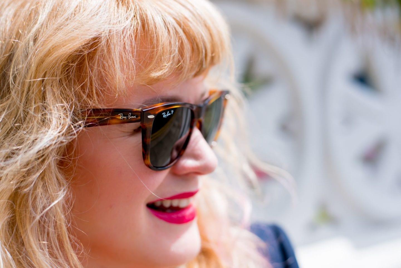 rayban ray ban wayfarer sunglasses remix customised sunnies curve blogger