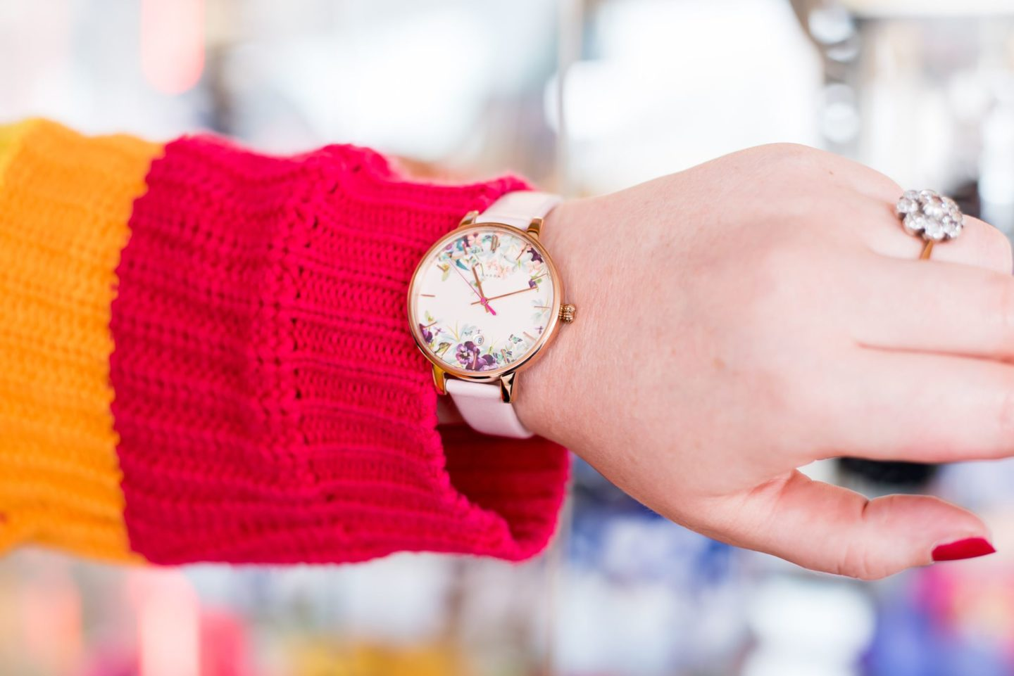 ted baker watch flower floral