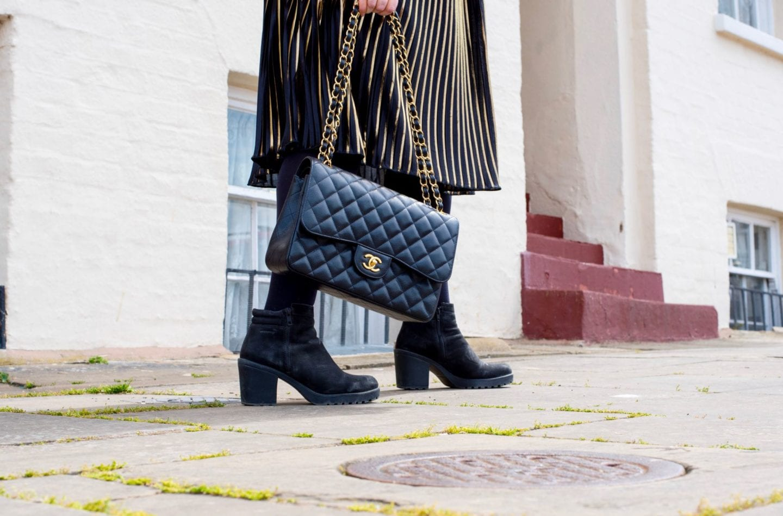 vagabond boots black suede