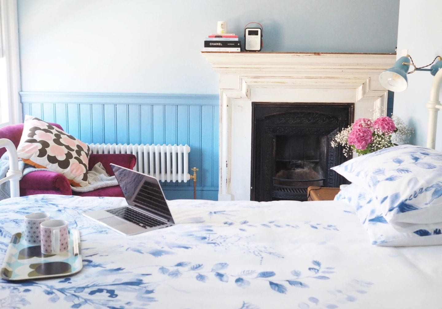 bedroom-blue-with-victorian-fireplace