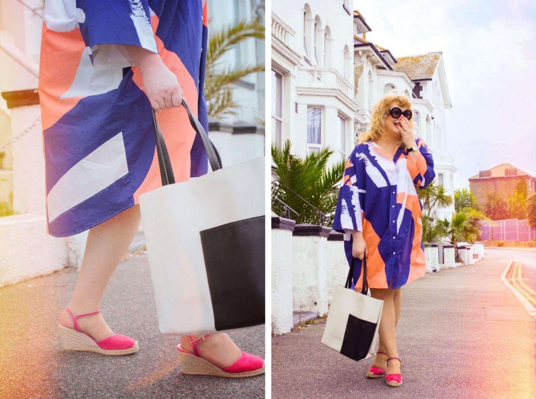 kin at john lewis dress fashion for lunch blog