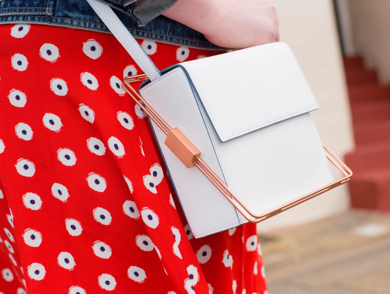 lautem handbag cream box white