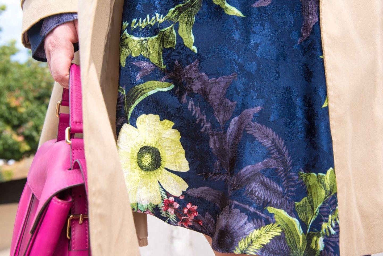 navy blue next dress