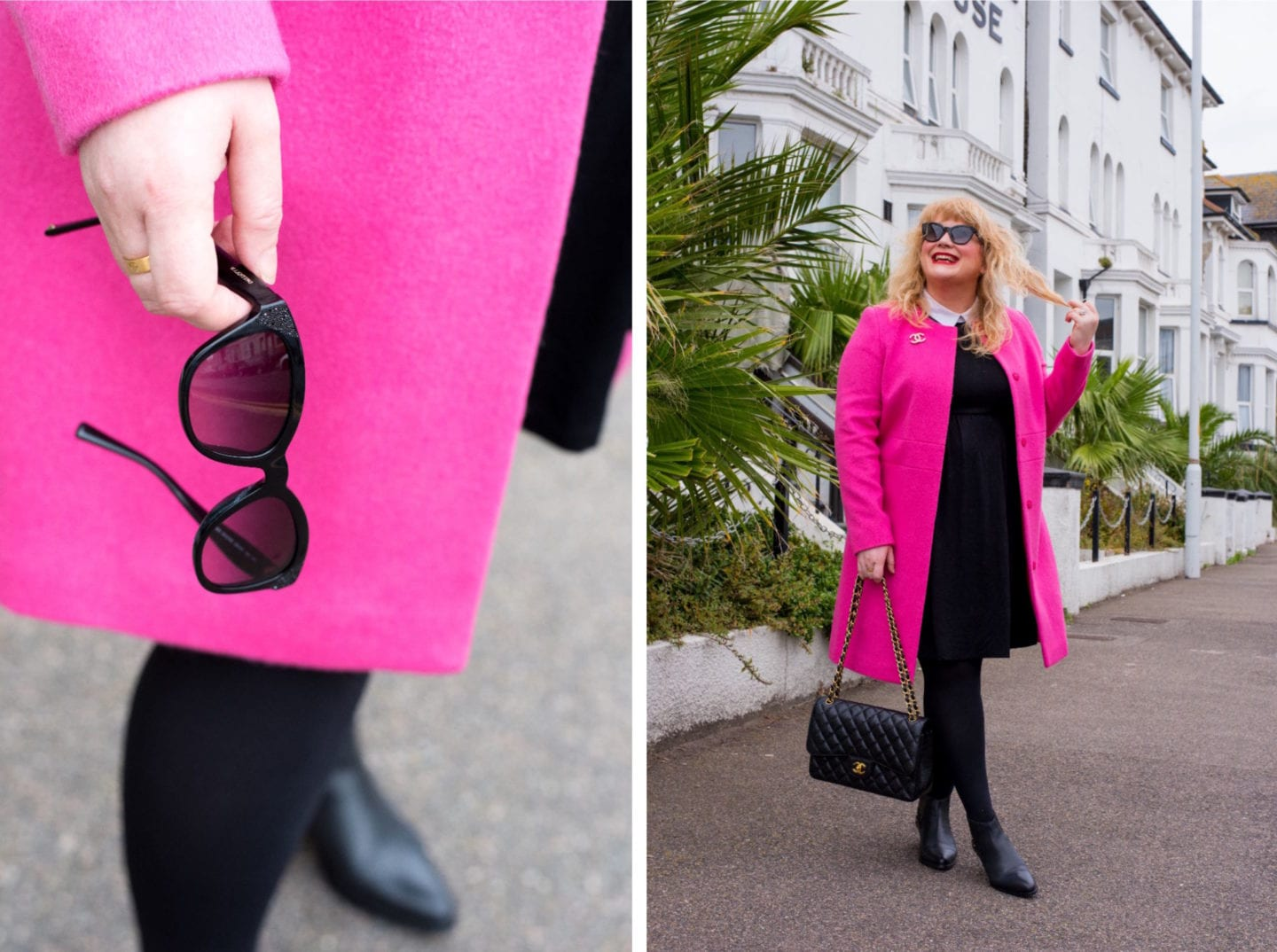 fashion for lunch blog valentino sunglasses