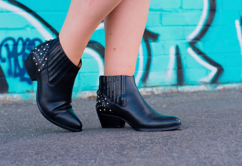 hudson black leather cowboy boots