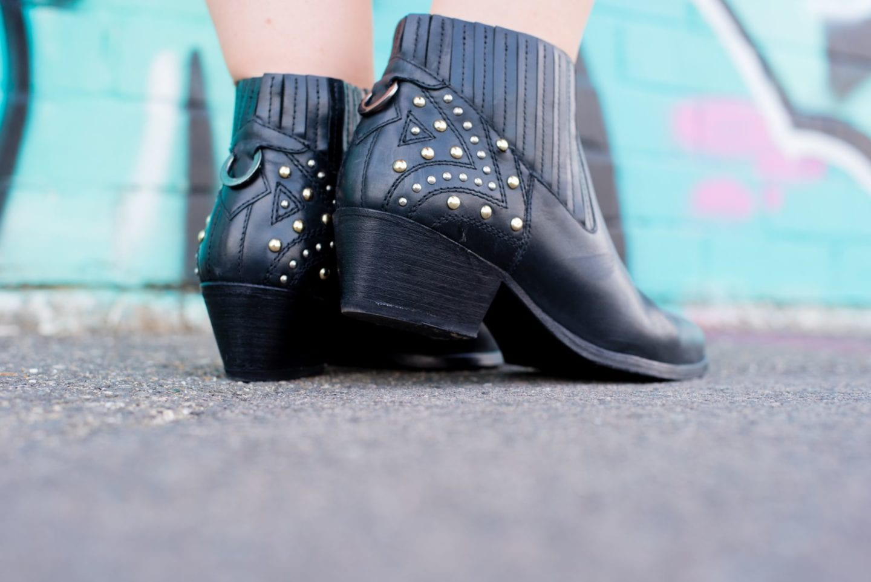 hudson boots black leather cowboy