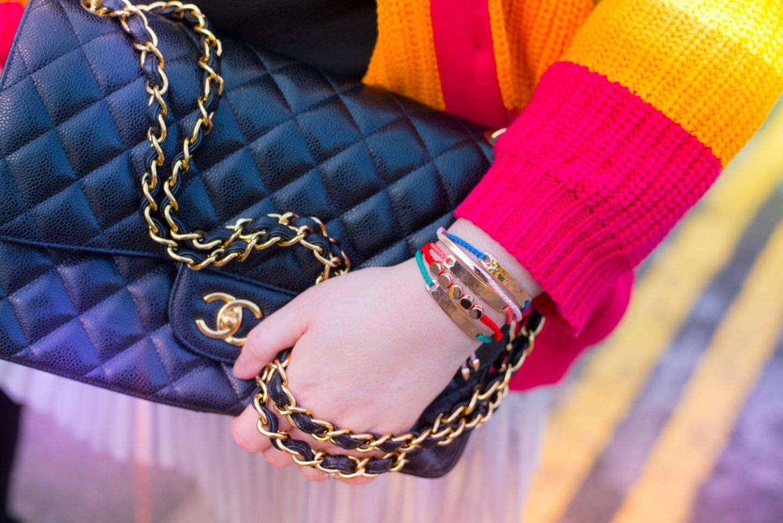 monica vinader bracelets rainbow colours beach