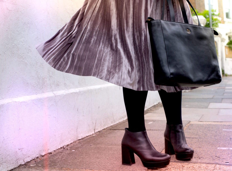radley london handbag black leather