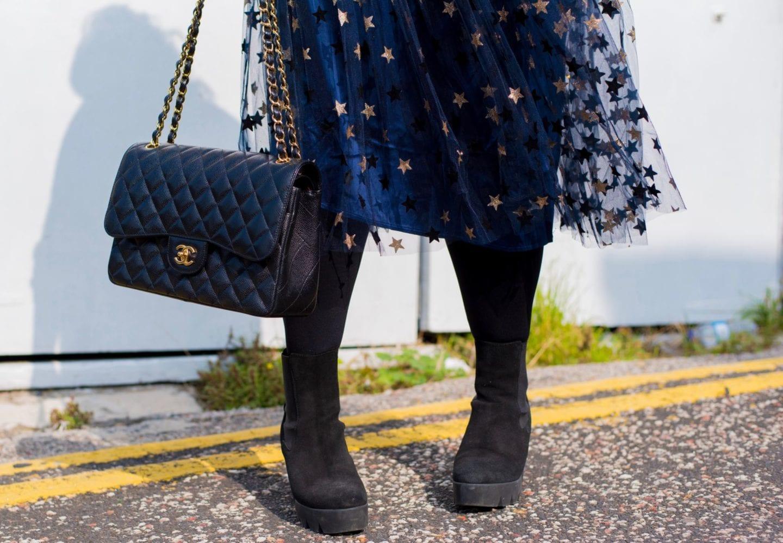 elvi-star-print-skirt