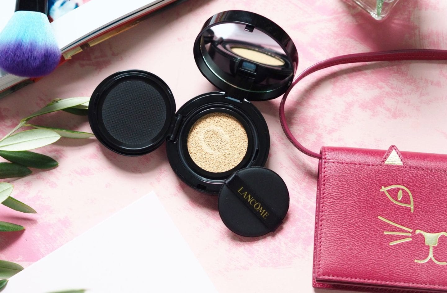 Lancôme X Olympia Le-Tan cushion highlighter
