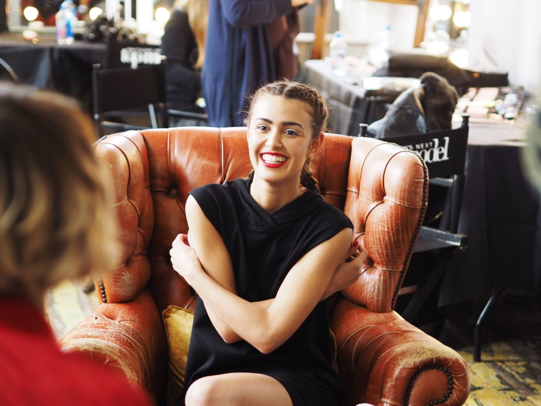 carmex x 2017 britains next top model shoot behind the scenes