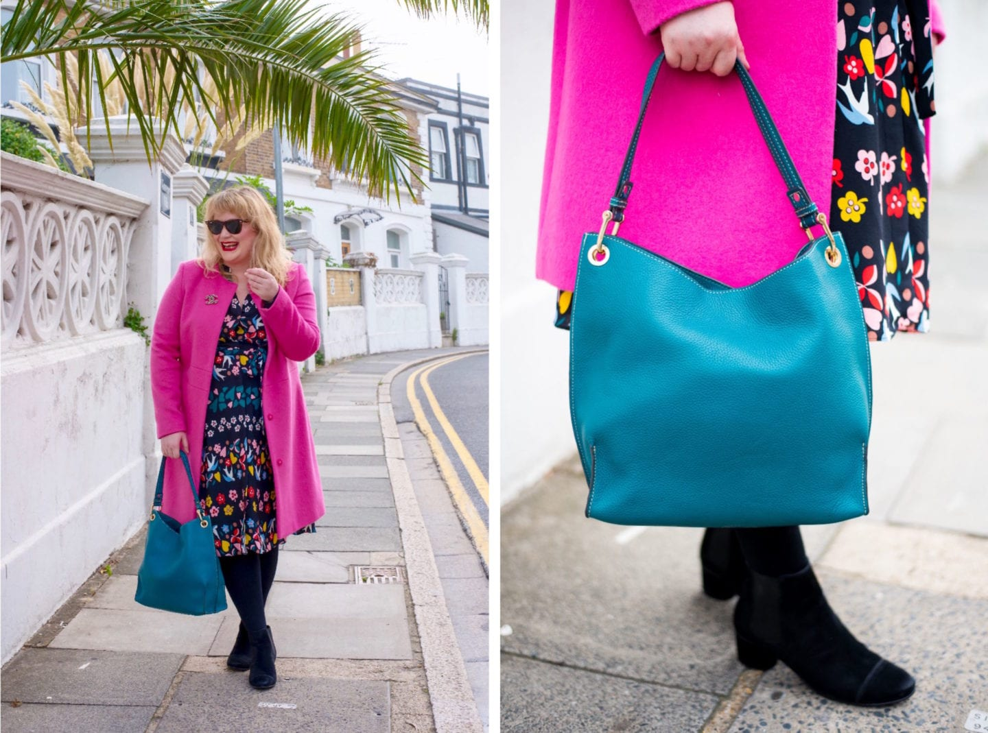 fashion for lunch blog boden handbag teal