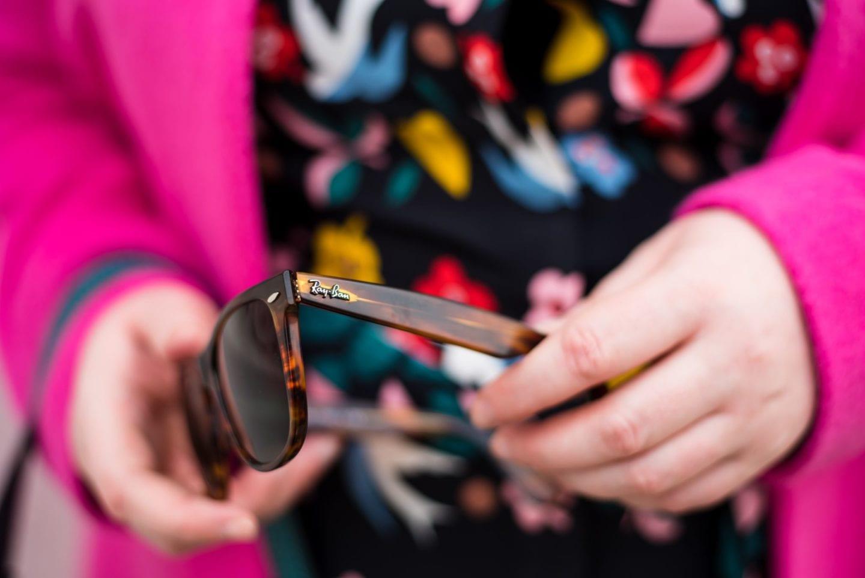 fashion for lunch blog ray ban sunglasses bespoke remix