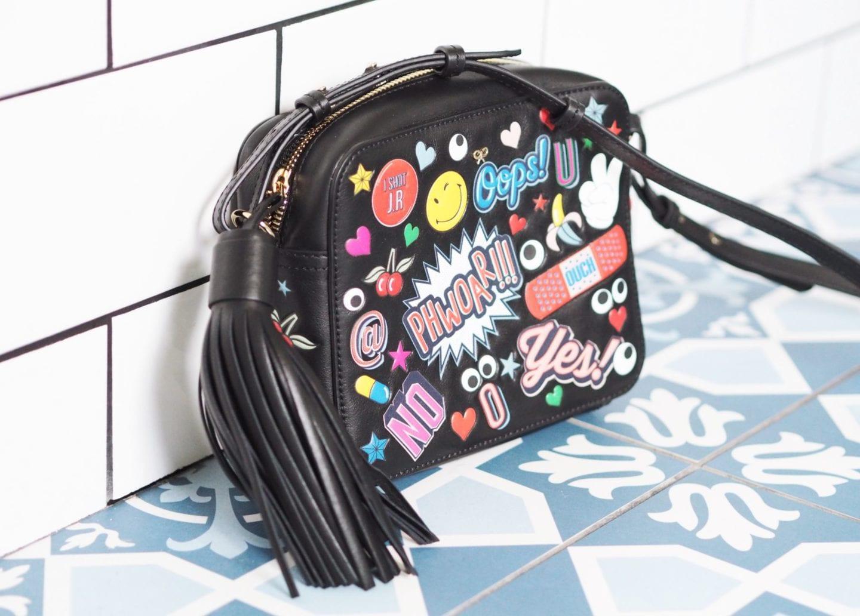 anya sticker handbag