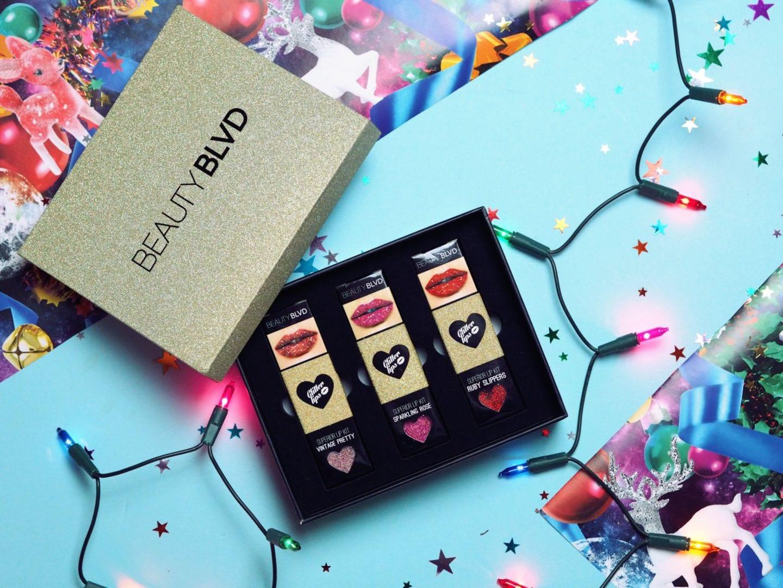 Beauty Blvd Glitter Lips Kit
