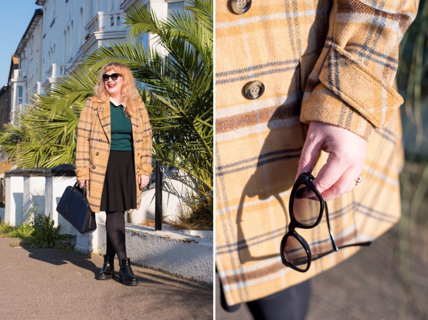fashion for lunch blog next check coat winter 2017