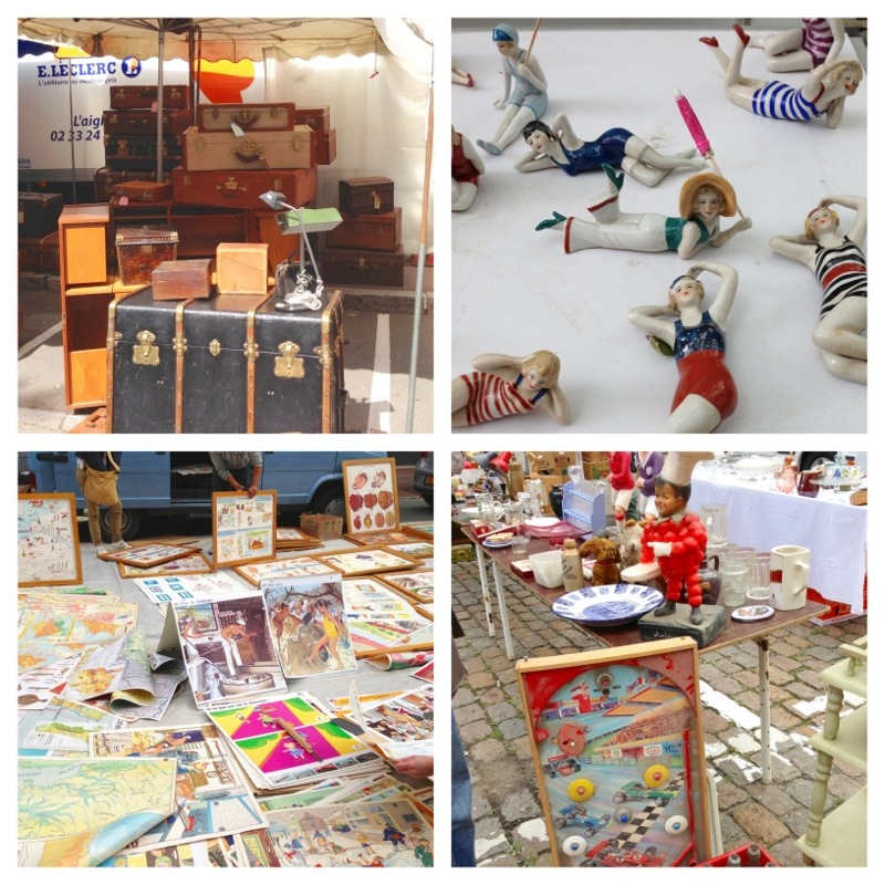 There ain't no market like a French flea market!