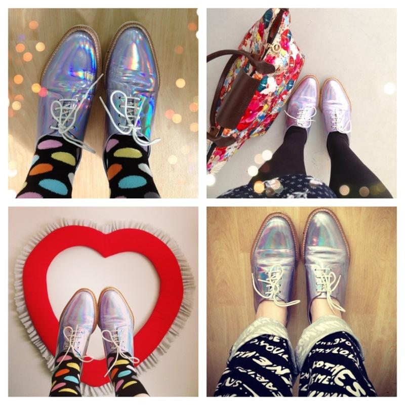 miista zoe hologram shoes fashion blog blogger personal style ootd wordpress uk british