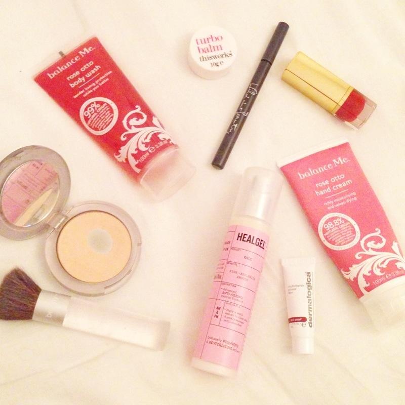 heal gel face - balance me  beauty blog blogger uk flatlay