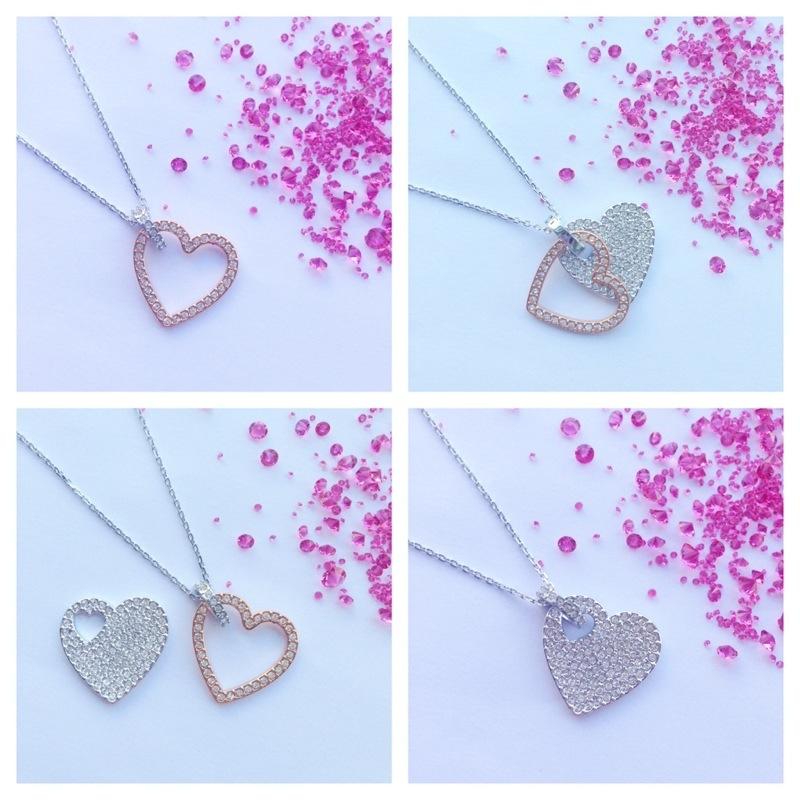 swarvoski infinity heart necklace fashion for lunch competition wordpress Swarovski heart hearts