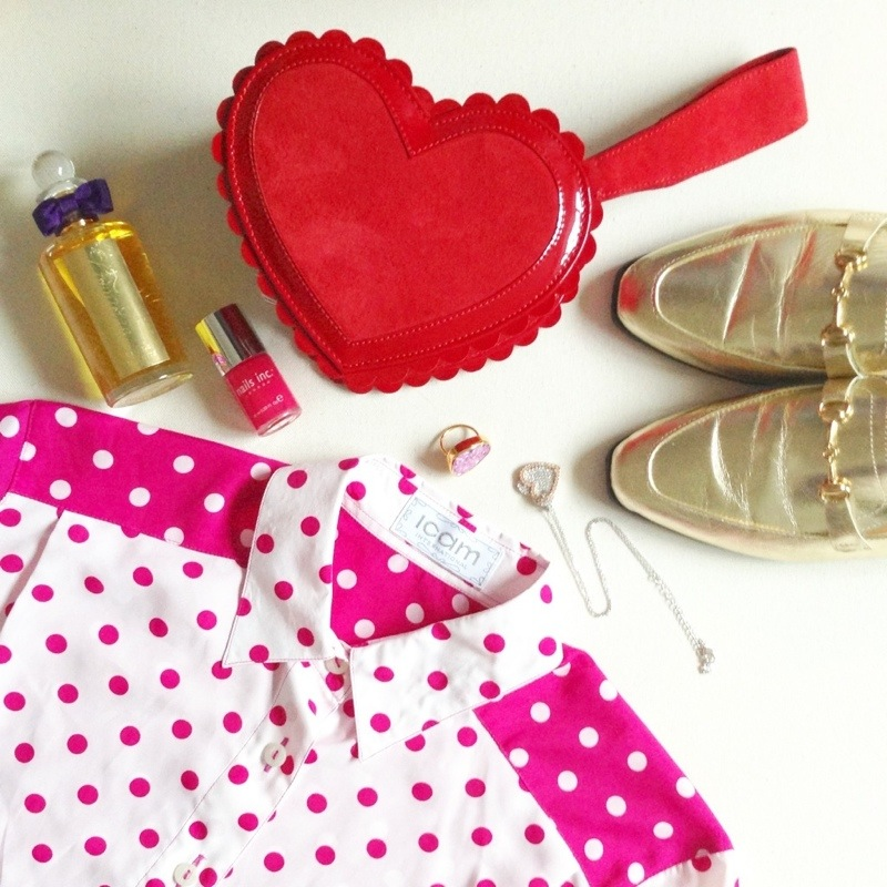 minna parikka heart shaped bag penhaligons cornubia perfume nails inc nail polish sushilla ring gold loafers vintage fashion blog uk blogger