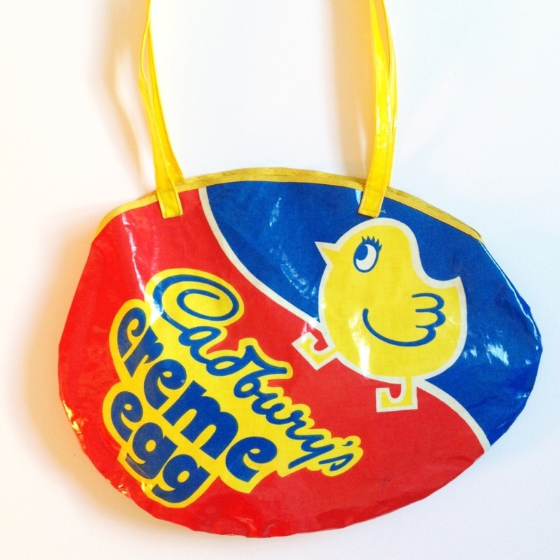 vintage cadburys creme egg bag - fashion for lunch blog