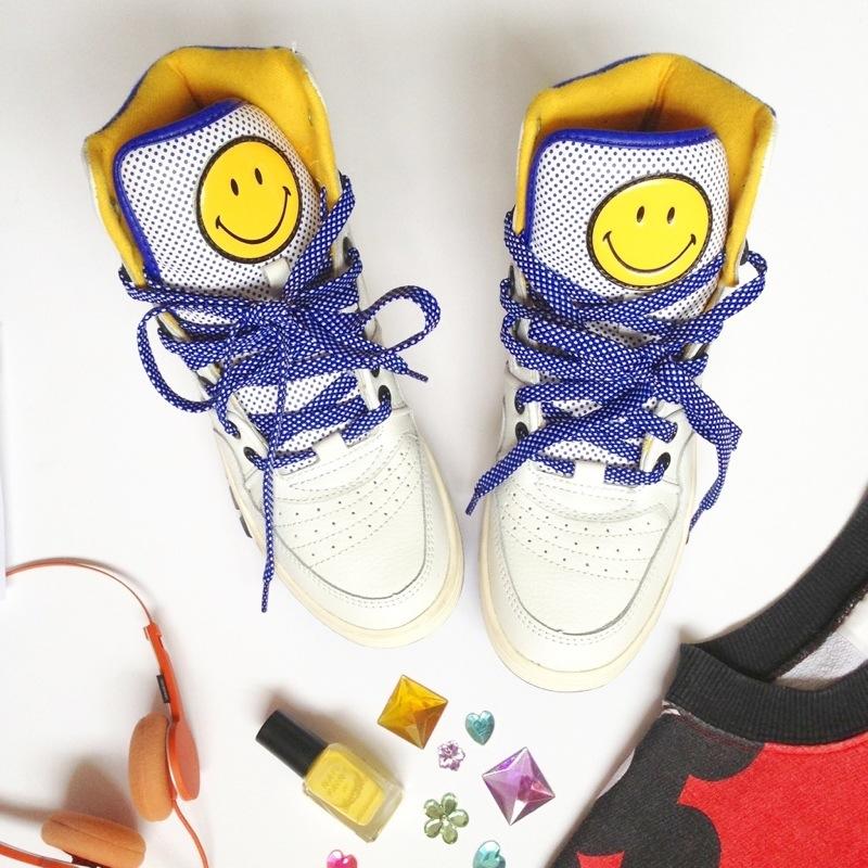 smiley x pony trainers