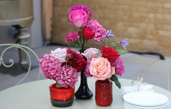 Christian Louboutin flowers