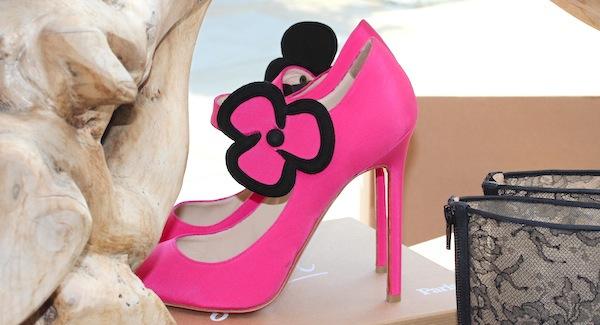 Christian Louboutin london beaute launch pink shoes