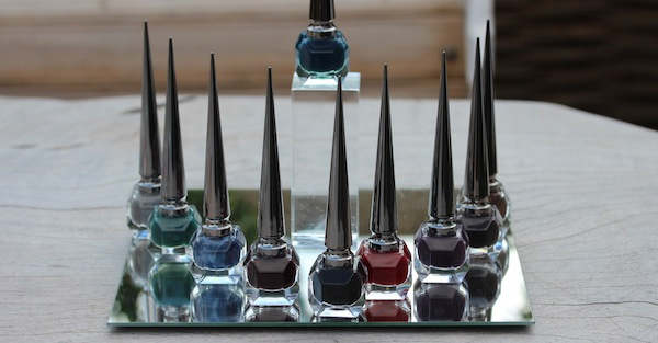 Christian Louboutin the noirs nail polish collection