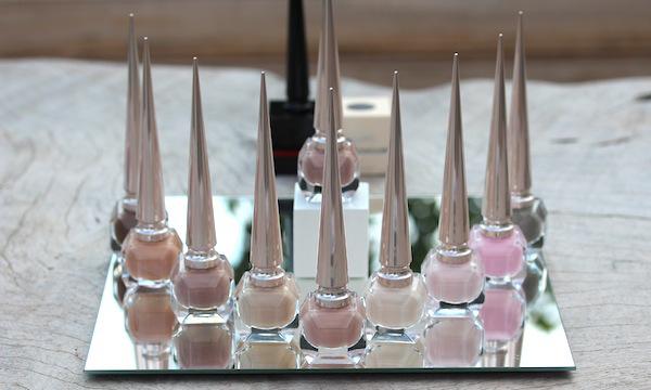 Christian Louboutin the nudes nail polish collection