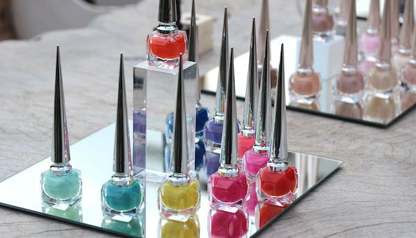 Christian Louboutin the pops nail polish collection