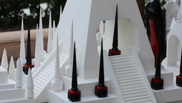 Christian Louboutin Beauté the rouge nail polish colour london launch