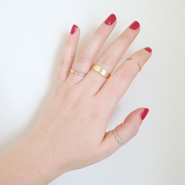 Stackable rings Fashion For Lunch