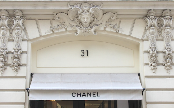 chanel on rue cambon paris