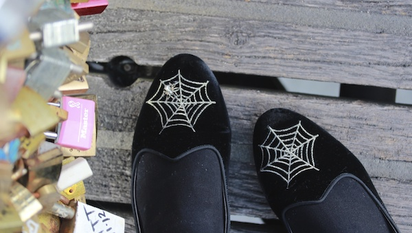 charlotte olympia spiderweb shoes