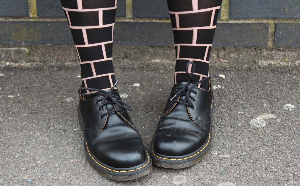 dr martens and patternity pretty polly tights