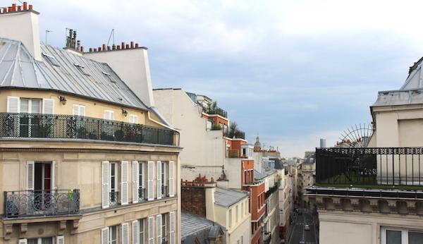 paris rooftoops hotel josephine
