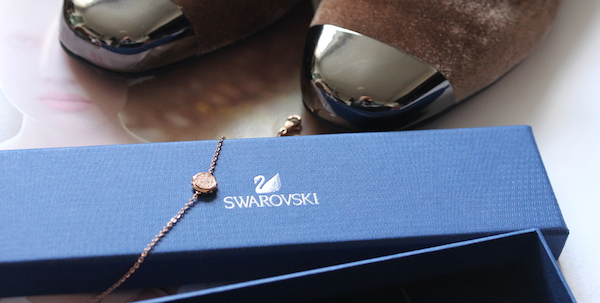 swarovski mixed metal aw14 collection bracelet screw nut bolt jewellery lucy choi shoes
