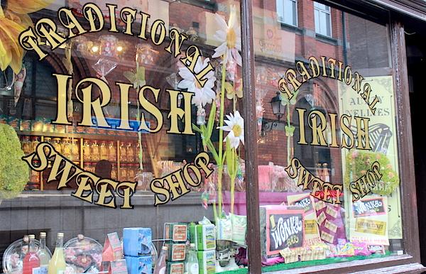 traditional irish sweet shop vintage
