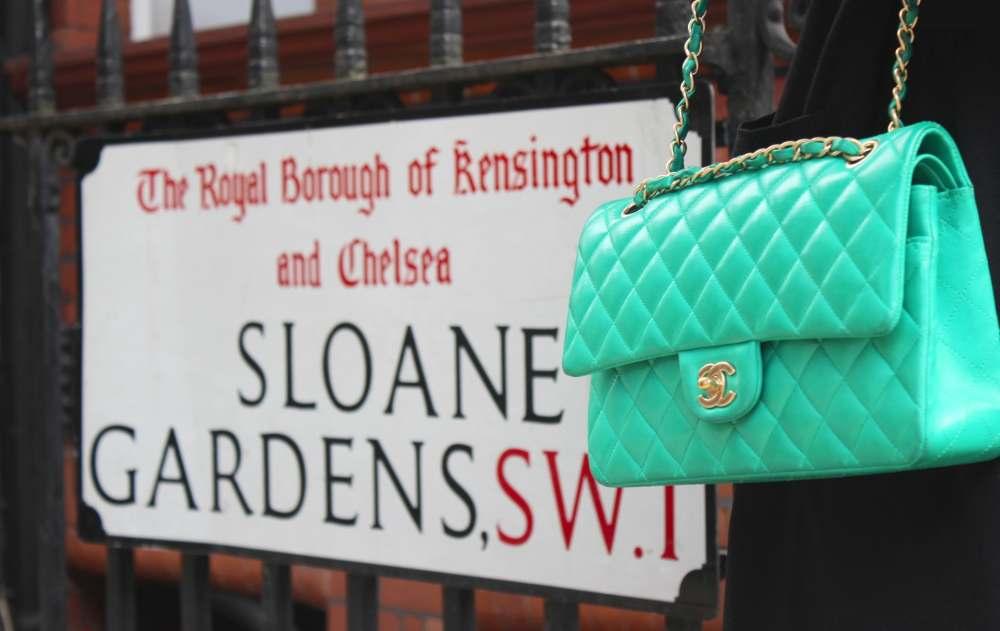 green chanel handbag 2.55 classic flap bright green gold hard wear fashion blogger blog personal style