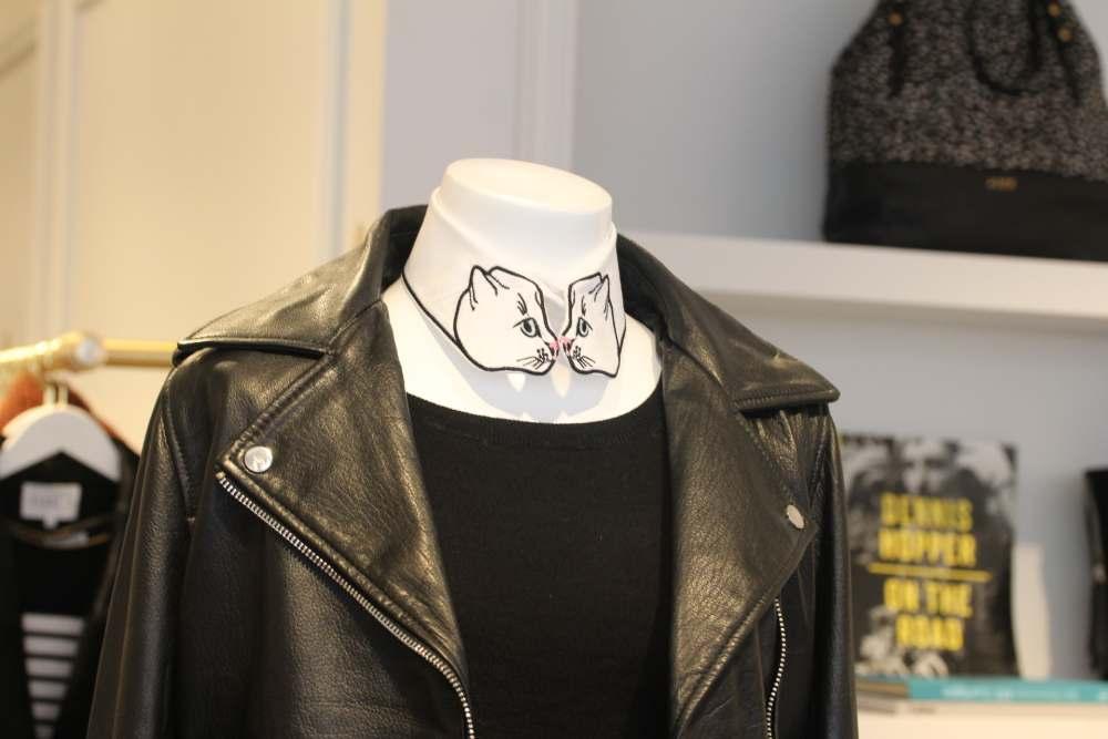 claudie pierlot vivetta cat collar cat face kitty designer fashion blog blogger
