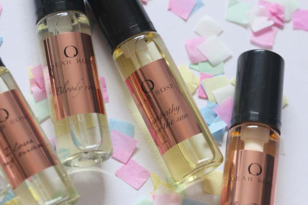 Perfume: Dear Rose,